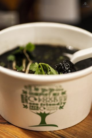 Impostor Bar and Eatery: fekete pho leves